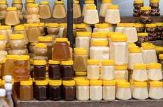 Мёд в пластиковой таре