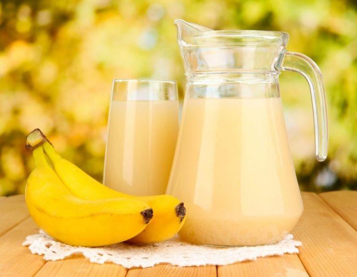 маска с бананом и медом