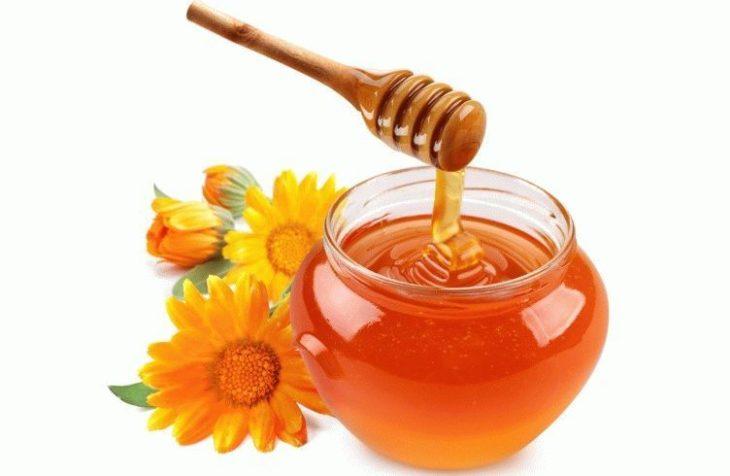 цветы и мед