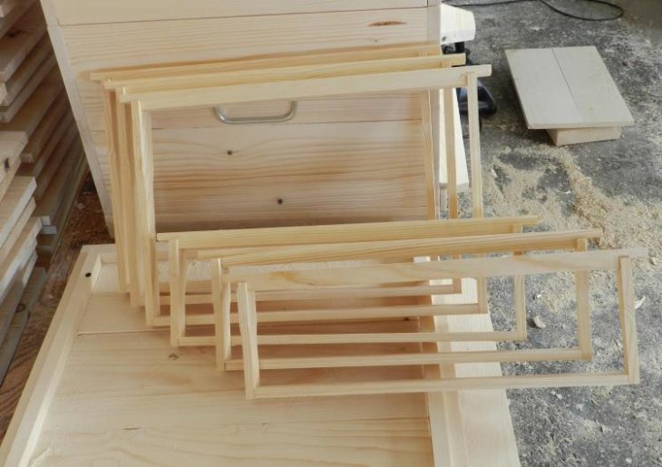 изготовление улья на 16 рамок