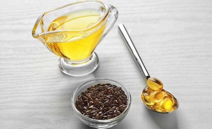 масло льна и мед