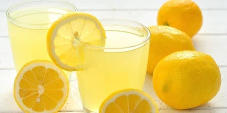 медово-лимонная вода