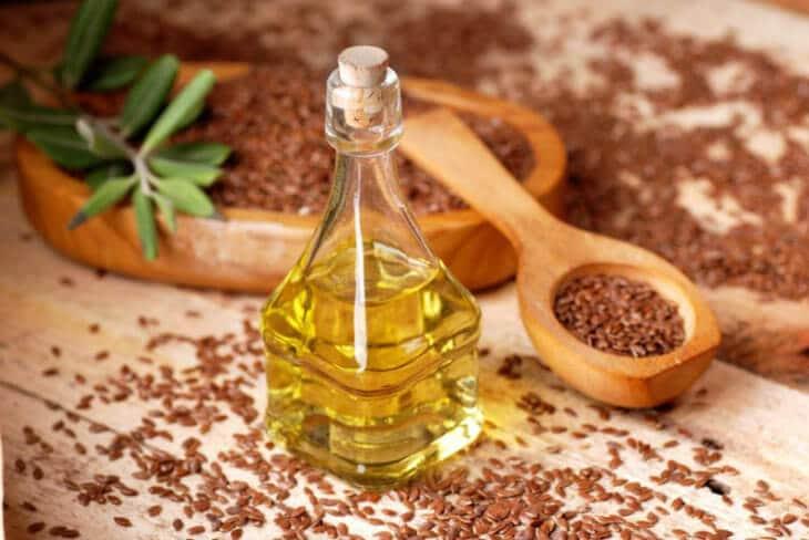 льняные семена с медом