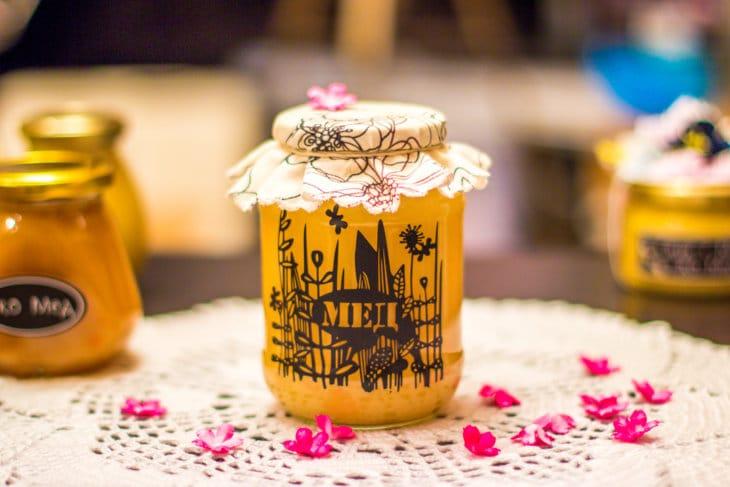 мед на основе женьшеня