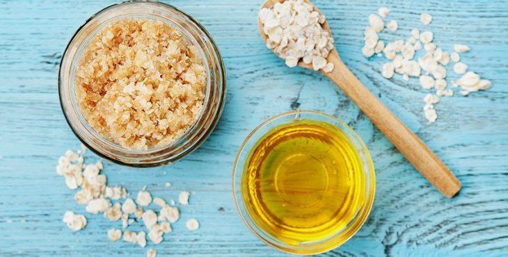пилинг с медом и солью