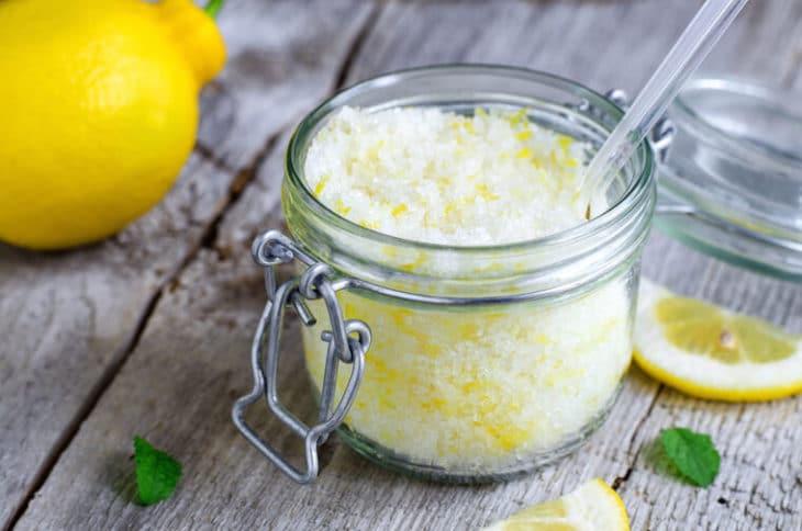 пилинг с медом и лимоном