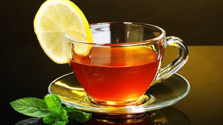 лимон с медом в чае