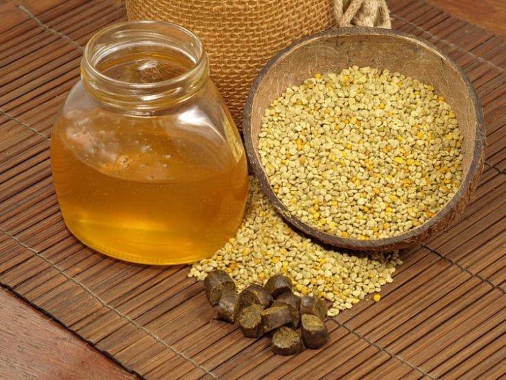 мед перга и прополис
