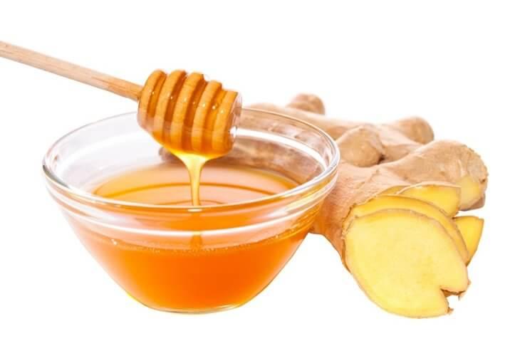 мед с корнем имбиря