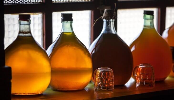 бутылки с медовузой