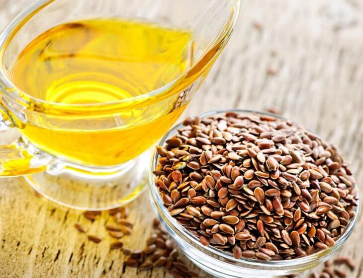 масло семян льна в целебной смеси