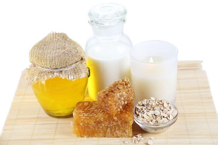мед с молоком и прополисом