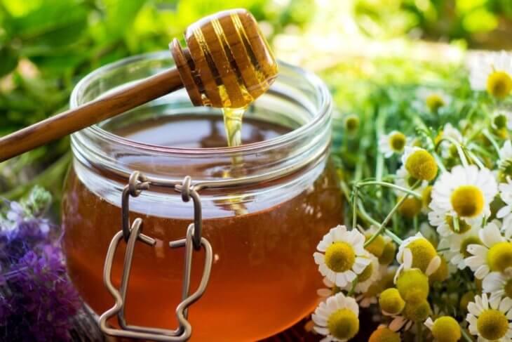 ромашки с медом