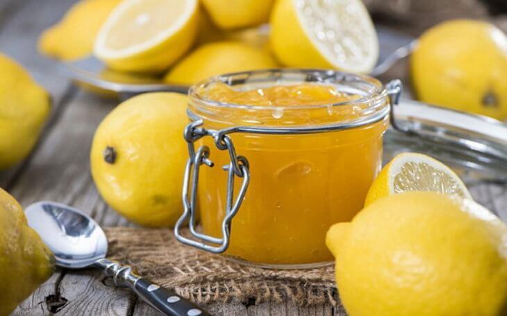 смесь из меда и лимона