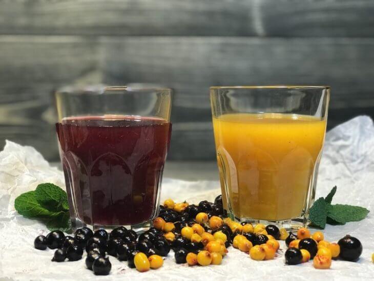 медовый напиток с ягодами