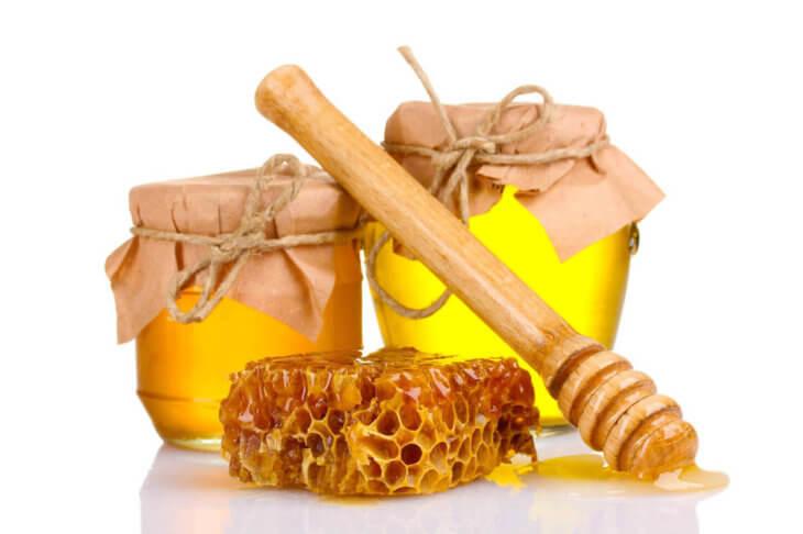 мед в банках и в сотах