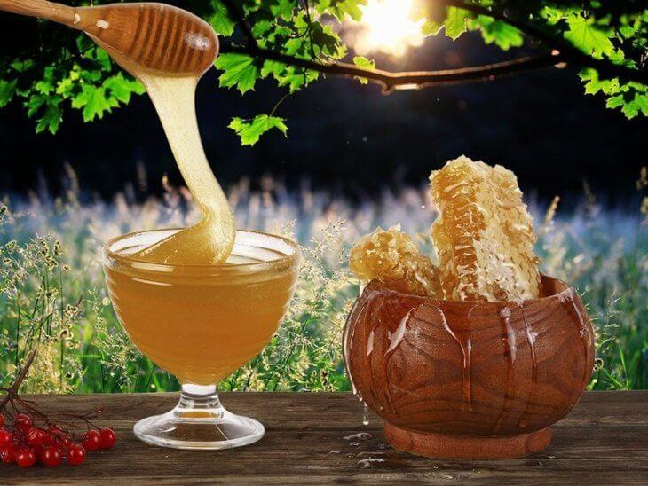 мед в сотах в банке
