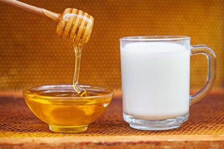 медовое молоко