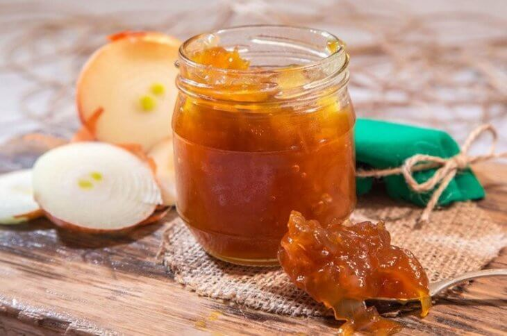 запеченный лук с медом