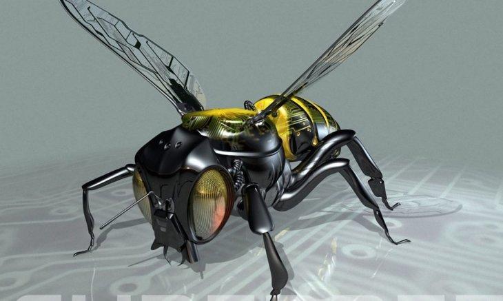 робот пчелы