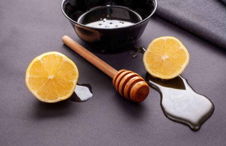 польза меда с лимоном