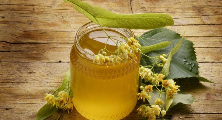 Медово-липовый напиток